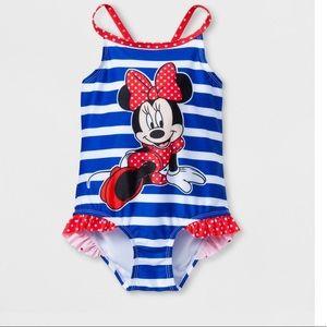 Minnie one piece bathing suit